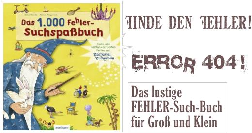 Das lustige FEHLER-Such-Buch